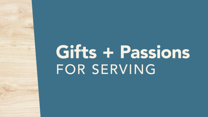 Gifts and Passions for Serving (Spring Lake Park)